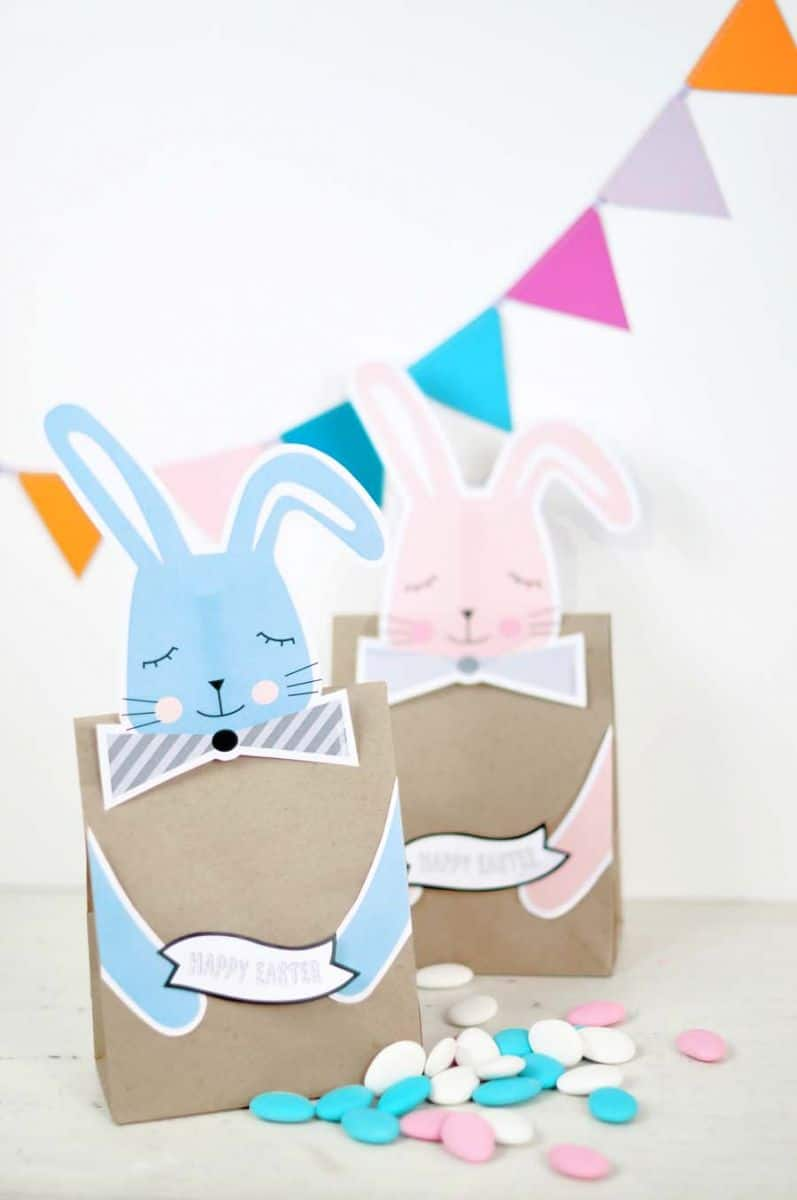 Hello wonderful easter free printable bunny treat bags free printable bunny easter treat bags materials negle Image collections