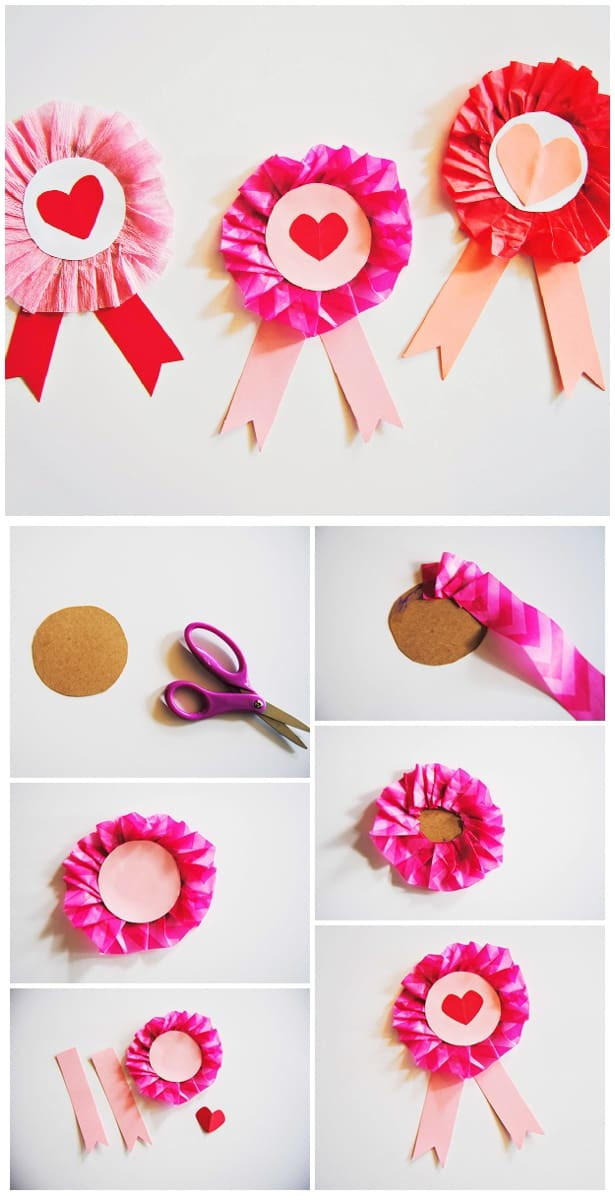 step - Valentine Ribbon