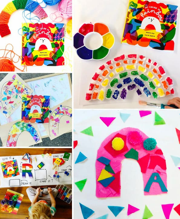 40 Brilliant Rainbow Kids Crafts And Activities