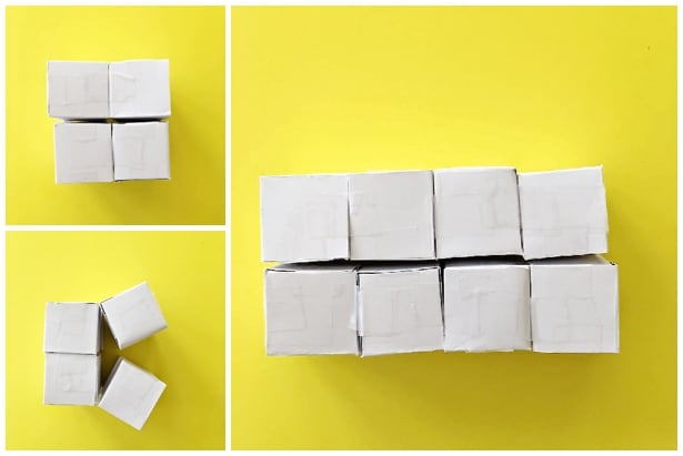 Hello Wonderful  How To Make A Magic Paper Art Cube