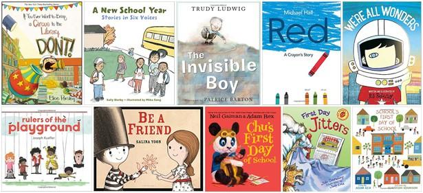 11 FAVORITE CHILDREN'S BOOKS TO BEGIN THE NEW SCHOOL YEAR