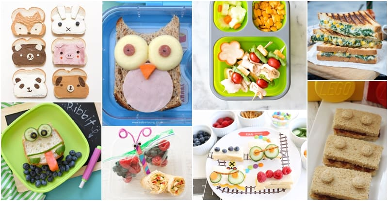 10 Super Easy Back To School Lunch Sandwich Ideas For Kids