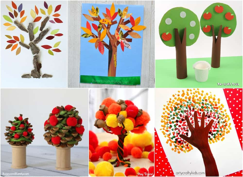 fall tree craft ideas 10 beautiful fall tree projects for 4427