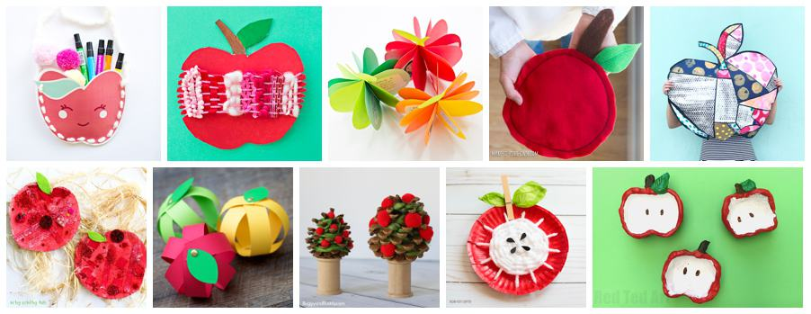 15 sweet apple art projects for kids