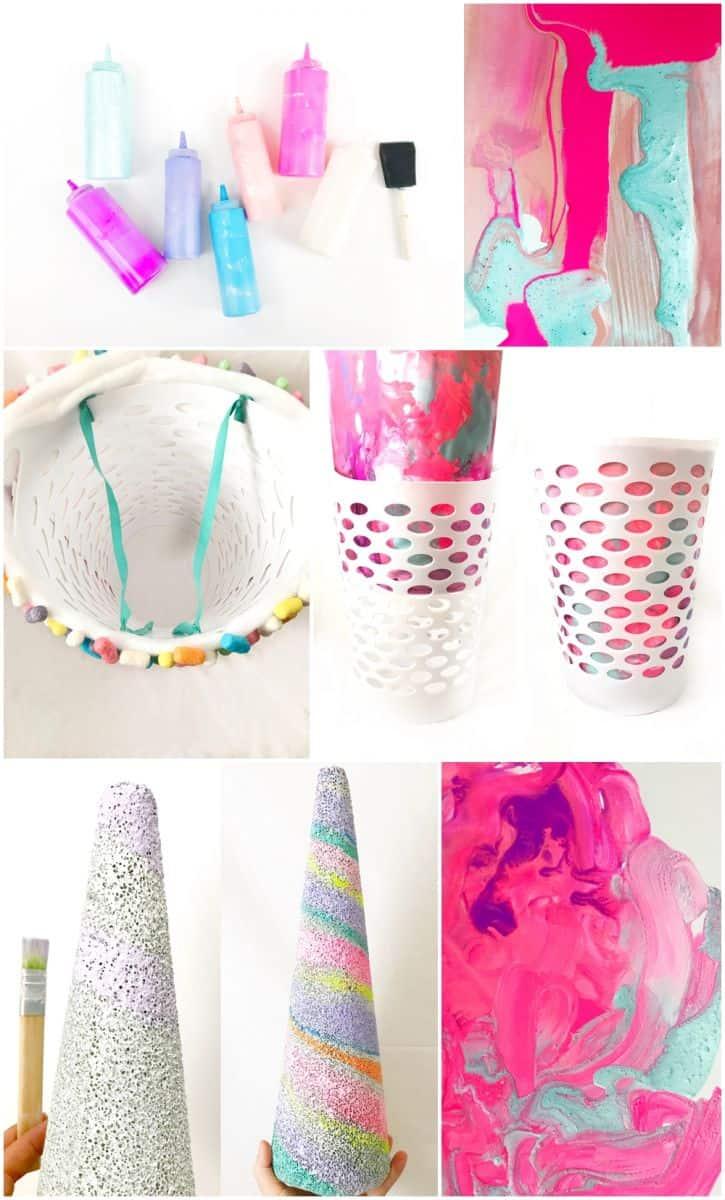 Diy Unicorn Candy Milkshake Costume