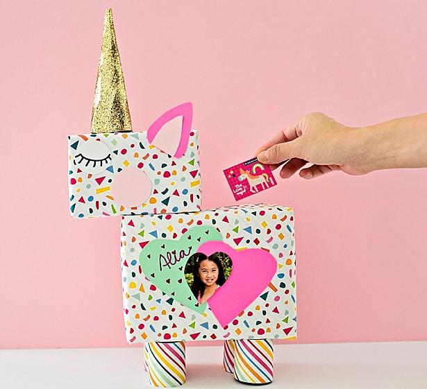 DIY unicorn box