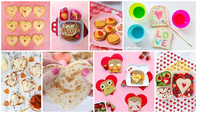10 Sweet Valentine S Day Lunch Ideas For Kids