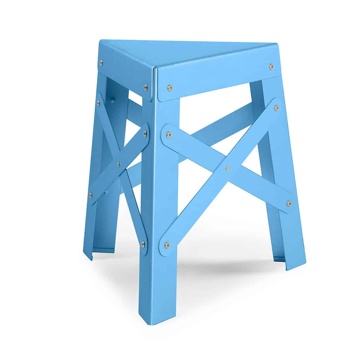 One Hundred Triangles Stool Newlibrarygood Com