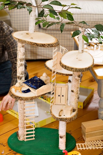 Build A Mini Indoor Play Treehouse