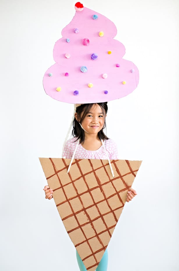 sc 1 st  Hello Wonderful & THE CUTEST CARDBOARD ICE CREAM COSTUME FOR KIDS