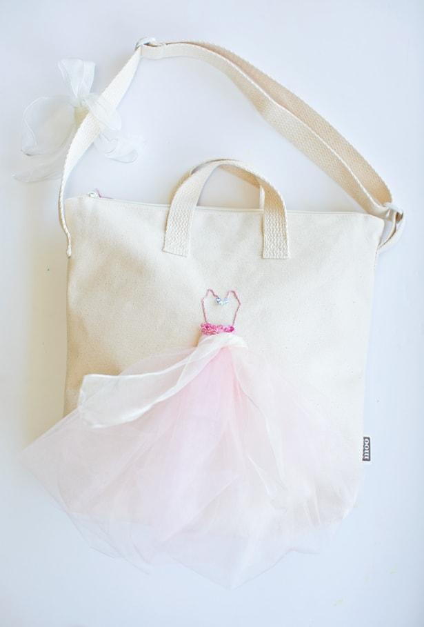 DIY BALLERINA BAG FOR KIDS