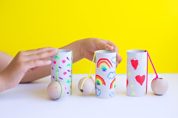Toys With Balls And Tubes : Diy paper tube ball and cup game for kids