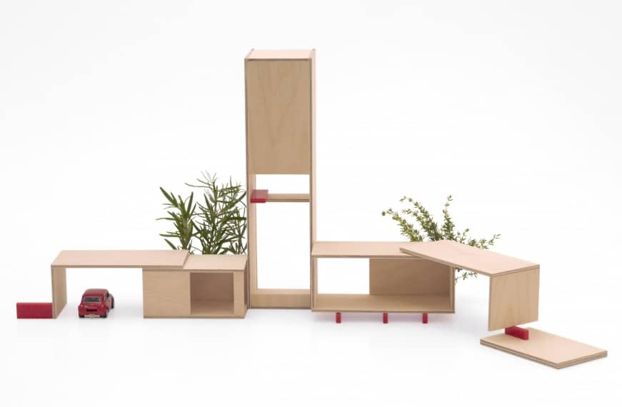 hello Wonderful CONTEMPORARY AND MODULAR DOLLHOUSES FROM MINI ARCHI