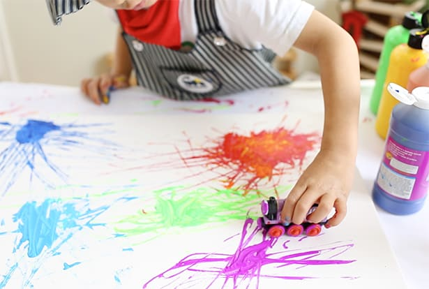 Art Painting Images For Kids