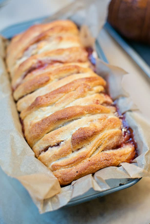 Peanut Butter And Jelly Pull Apart Bread
