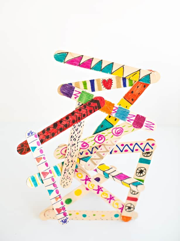 Arts And Crafts Ideas With Popsicle Sticks