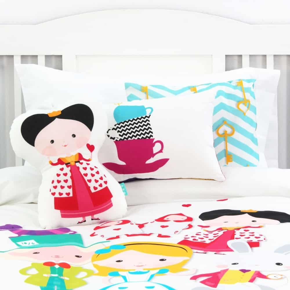 fall asleep in a storybook cute bedding for kids. Black Bedroom Furniture Sets. Home Design Ideas
