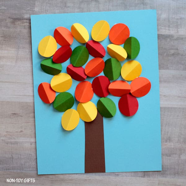 10 Beautiful Fall Tree Art Projects For Kids
