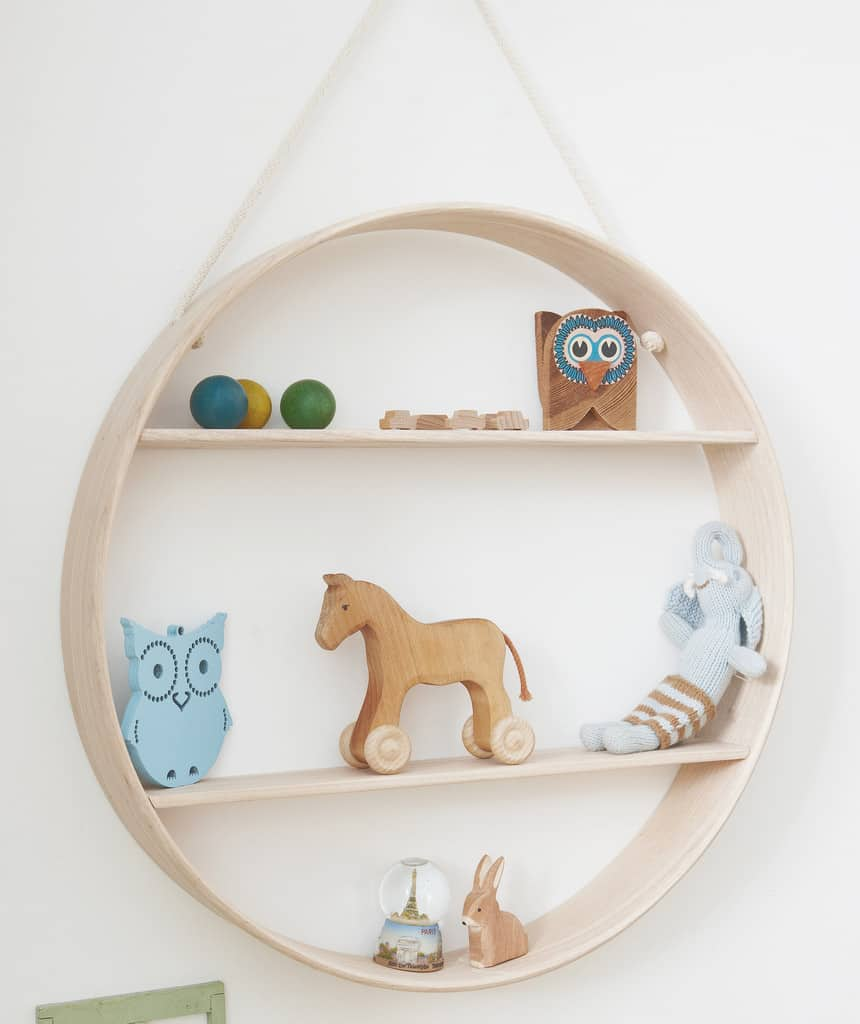 Cool Circular Handcrafted Shelves