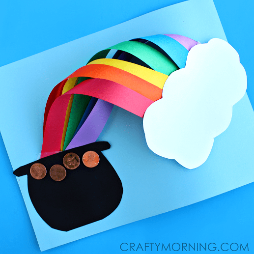 St Patricks Day Crafts: 12 LUCKY ST. PATRICK'S DAY ART PROJECTS FOR KIDS