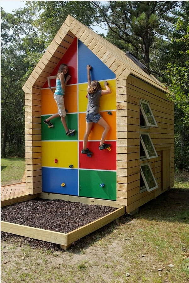 small loft room design ideas - hello Wonderful 12 AMAZING ROCK CLIMBING WALLS FOR KIDS