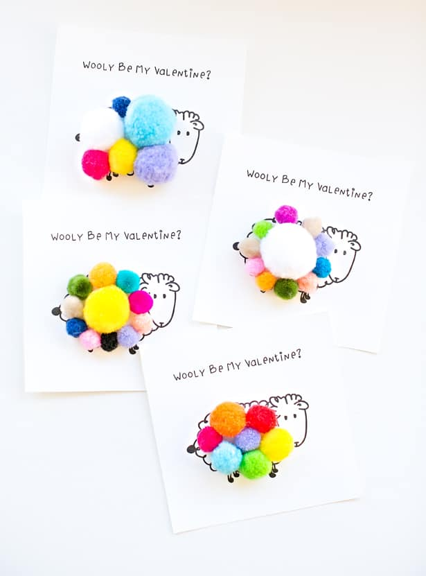 WOOLY BE MY VALENTINE FREE PRINTABLE CARD