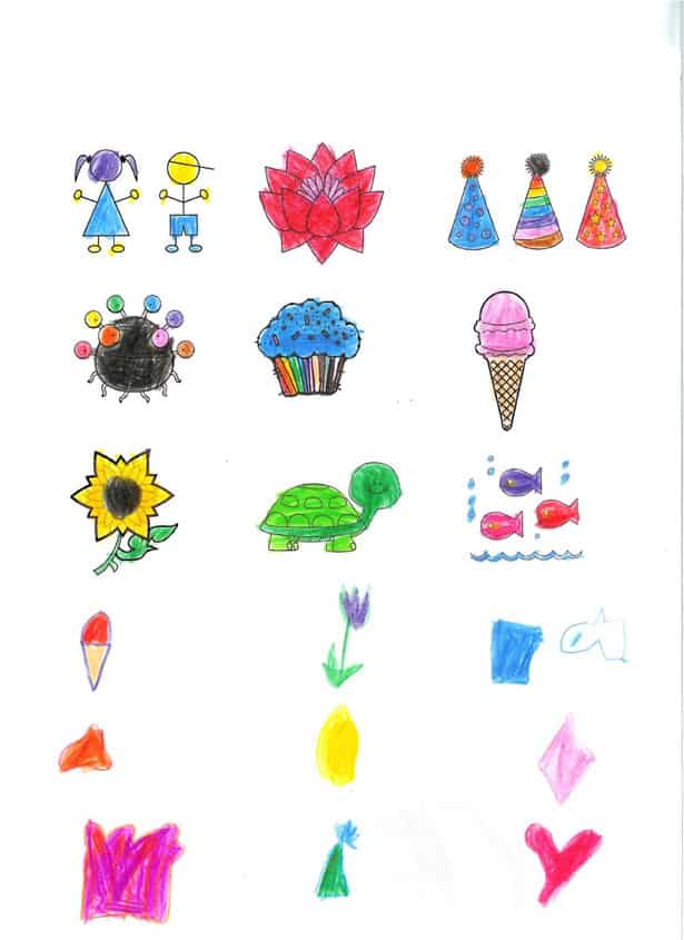 MAKE TEMPORARY TATTOOS OUT OF KIDS\' ART