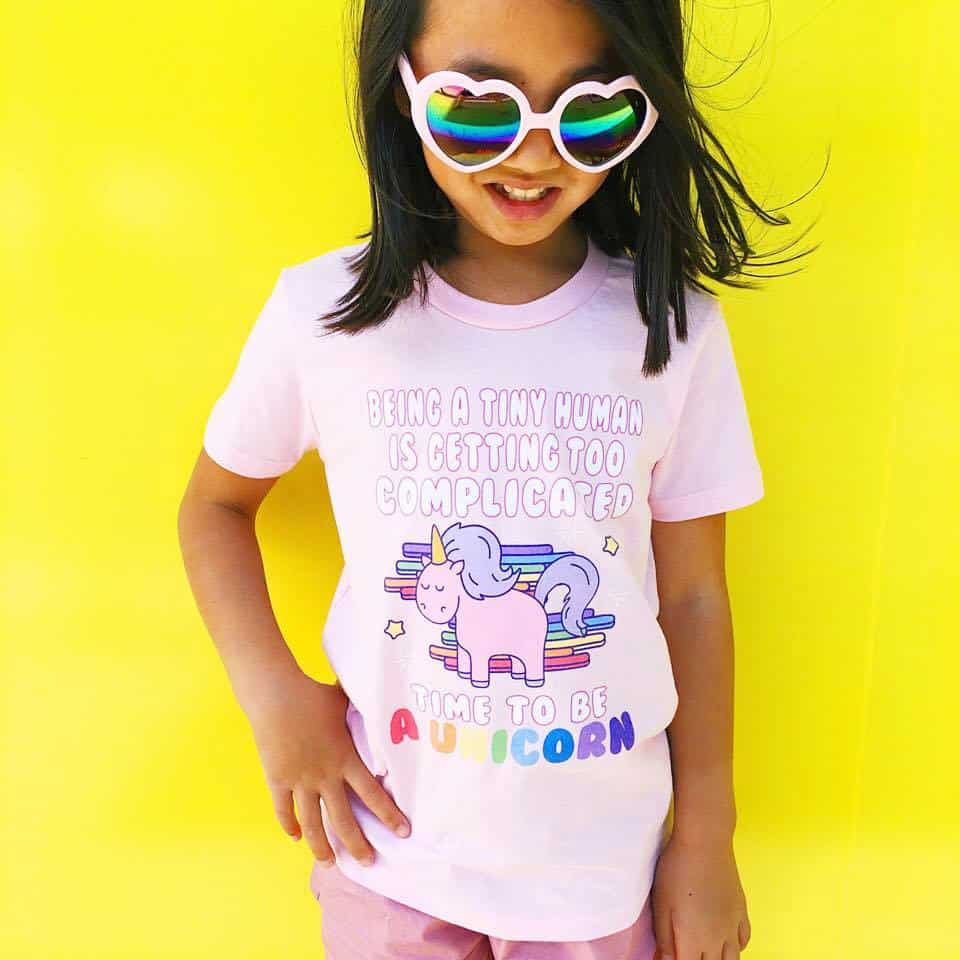 Magical Unicorn T Shirts For Kids Shop
