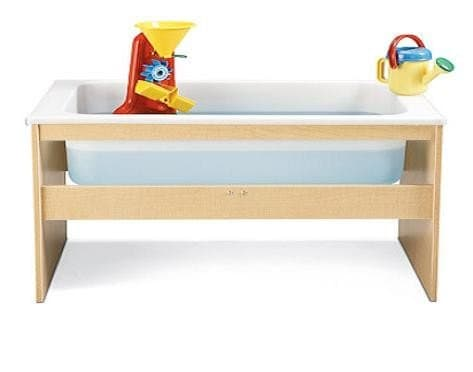 Perfect Table For The Preschool Set, This Fun Sensory Table Invites Endless  Play And Learning Activities.