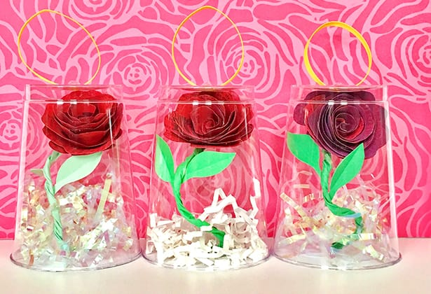 Beauty And The Beast Enchanted Rose Craft