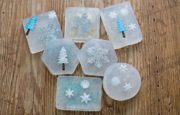 Christmas Soap Molds