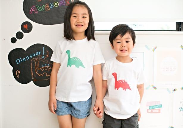 tutorial para hacer camisetas niños