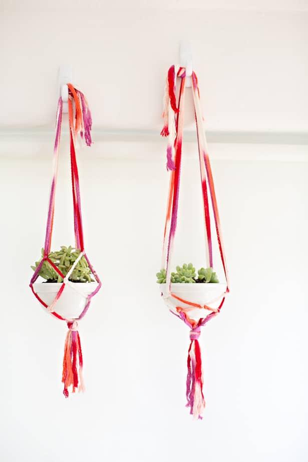 Simple Macrame Plant Hanger Diy