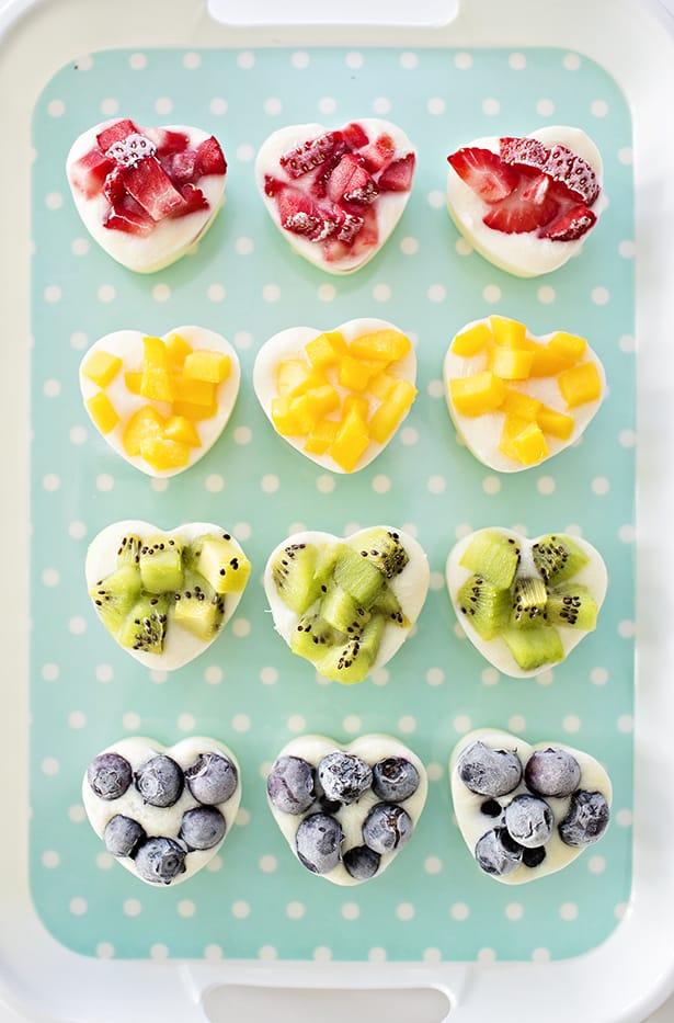 how to make frozen fruit yogurt