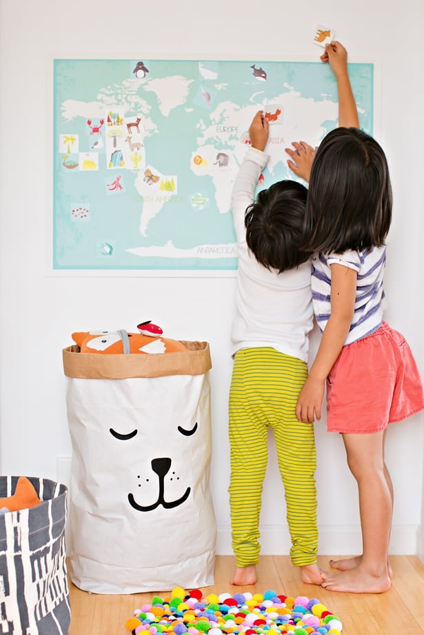 Hello Wonderful INTERACTIVE WORLD MAP FOR KIDS FROM CHILDREN - Interactive map for children