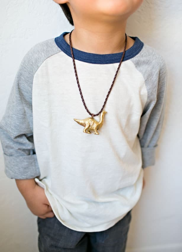 little easy for post dinosaur necklace boy an boys make