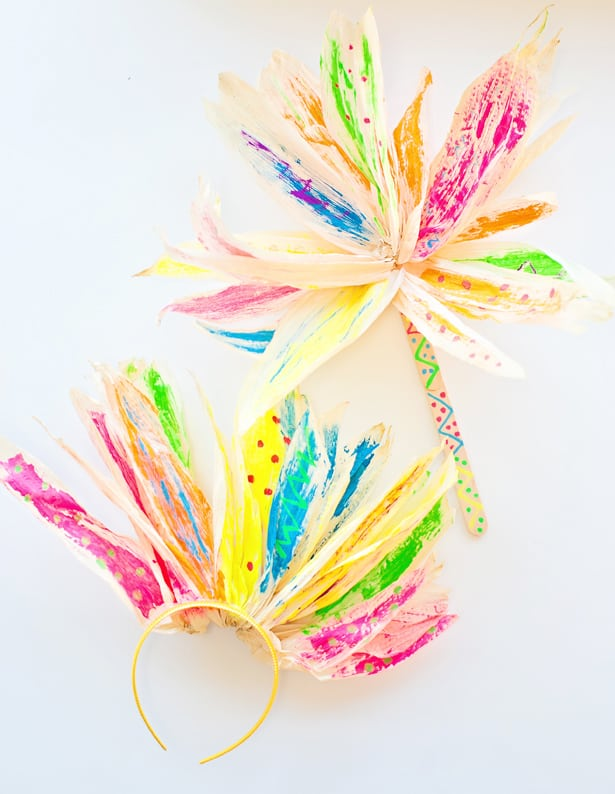 10 Cute Corn Husk Crafts To Make With The Kid This Fall