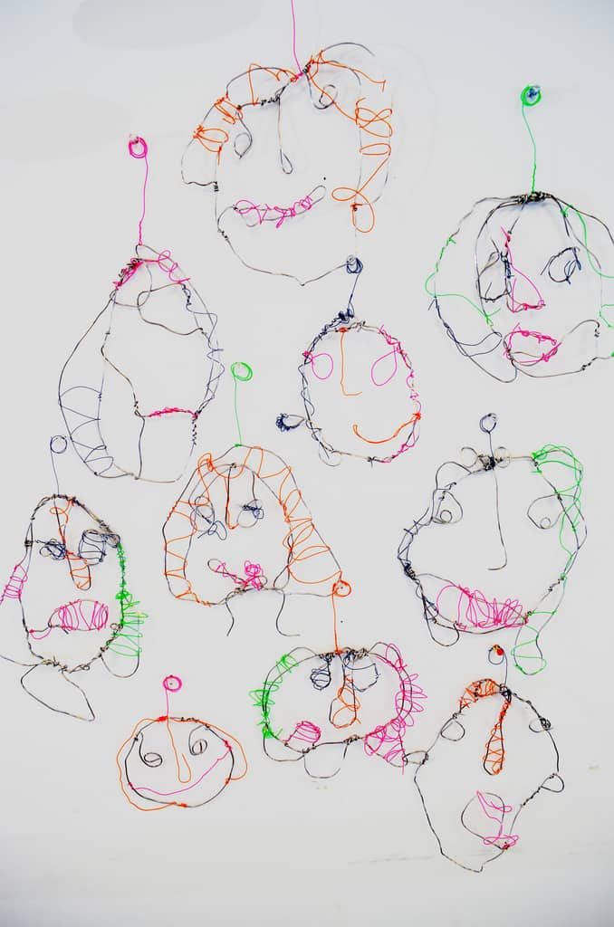 how to draw a self portrait for kids