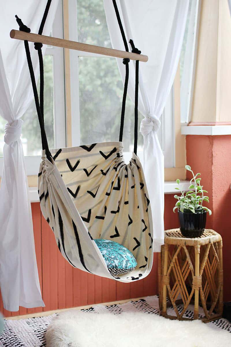 Perfect DIY Hammock Chair (via A Beautiful Mess) Another Fun DIY Project If You  Want To Have A Go At Making Your Own Hanging Chair U2013 This Super Fun Hammock  Swing Is ...