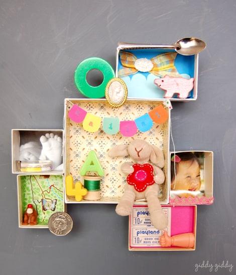 Diy Scrapbook Memory Box