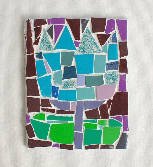 Make Tile Mosaic Art