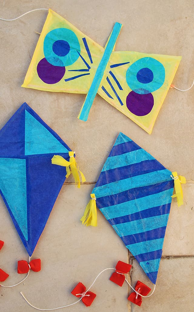 10 Fun Ways To Make A Kite