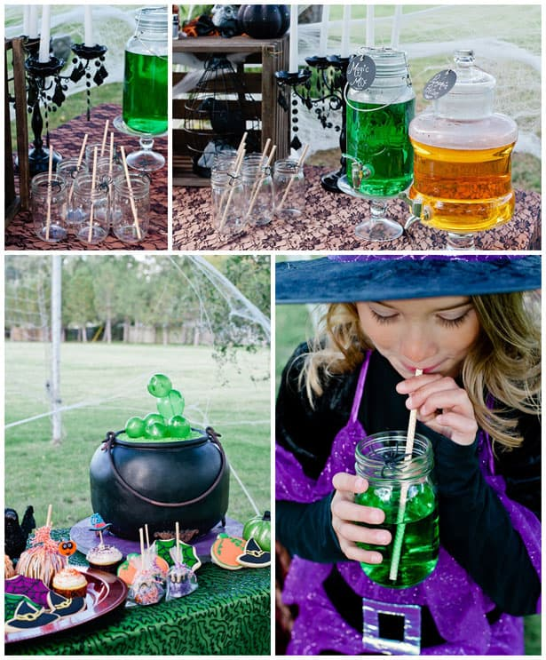 Enchanting Witch Themed Birthday Party
