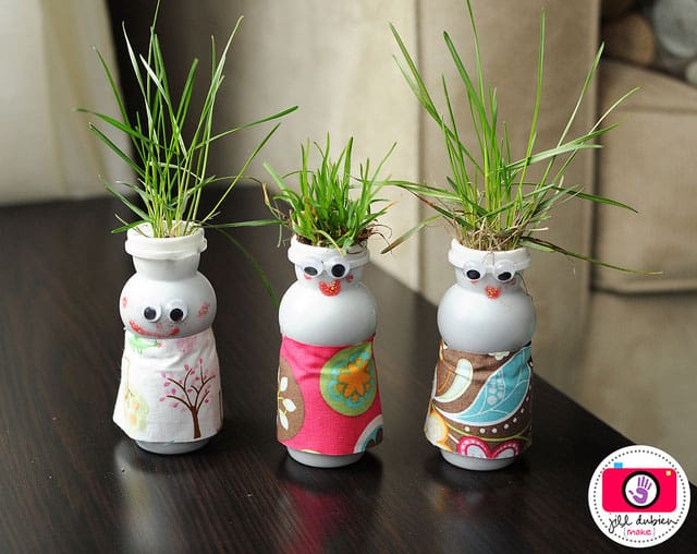 10 Unique Recycled Crafts For Kids