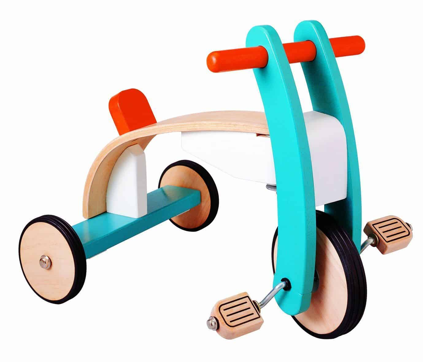 8 starter wooden ride-on toys for toddlers