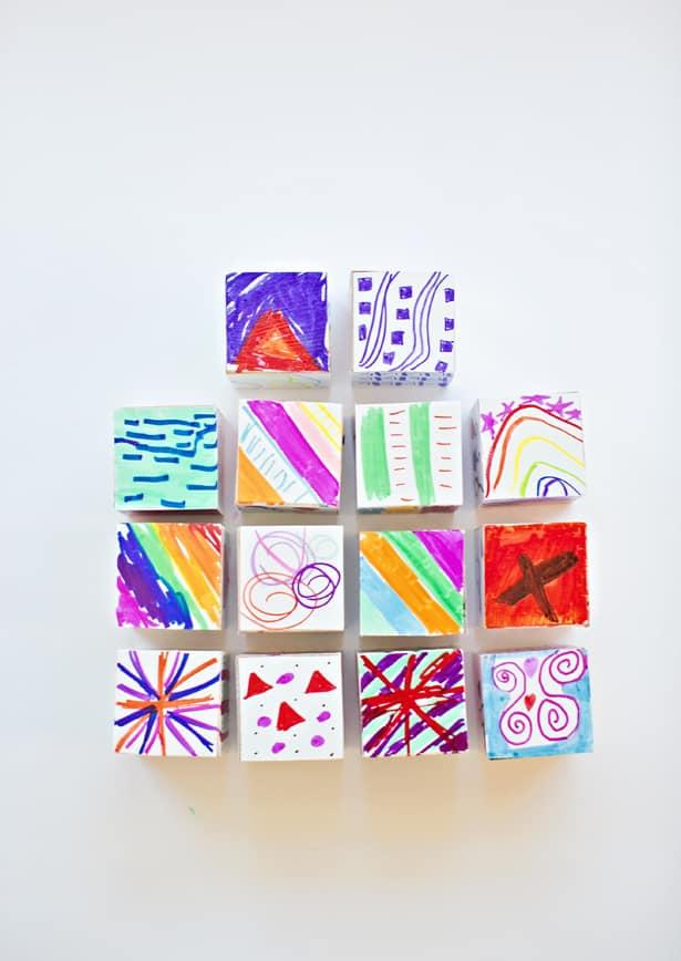 Diy Kids Art Play Blocks