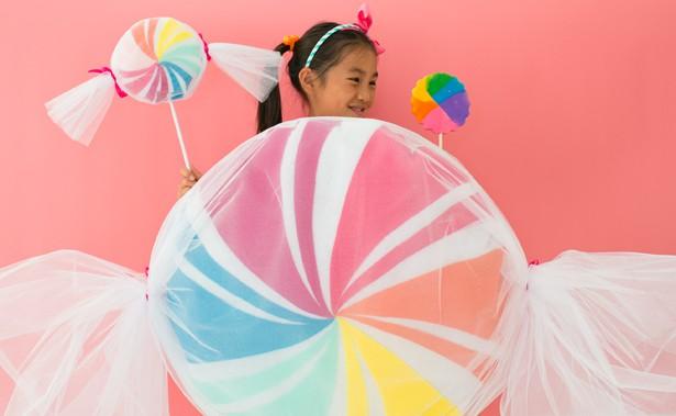 sc 1 st  Hello Wonderful & DIY NO-SEW FELT CANDY COSTUME FOR KIDS