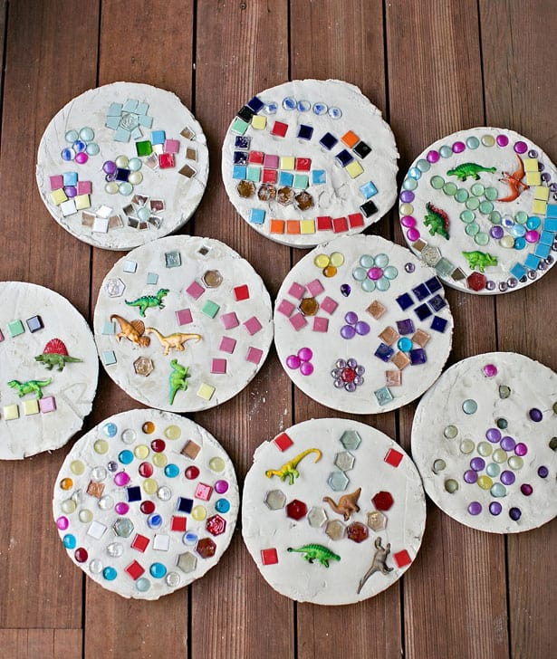 Diy stepping stones for Diy stone projects