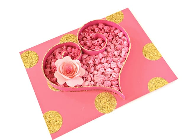 Tissue Paper Heart Craft Cute Valentine S Day Art Project