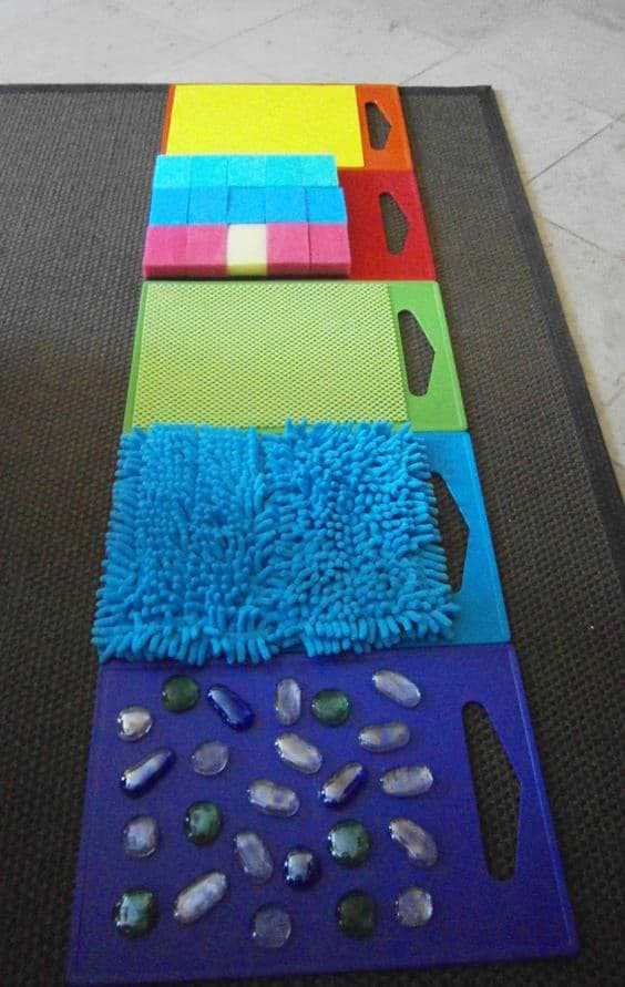 20 Foot Walk Boards : Creative sensory walk activities for kids